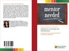 Capa do livro de A EaD no município de Sidrolândia