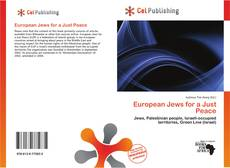 European Jews for a Just Peace kitap kapağı