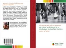 Copertina di Narrativa oral memória e identidade cultural de Itaituba