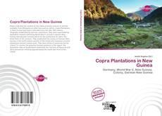 Portada del libro de Copra Plantations in New Guinea
