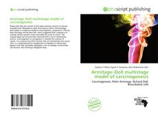 Bookcover of Armitage–Doll multistage model of carcinogenesis