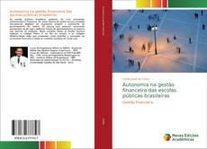 Copertina di Autonomia na gestão financeira das escolas públicas brasileiras