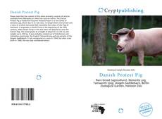 Bookcover of Danish Protest Pig