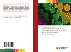 Couverture de Infecções hospitalares em UTI de hospitais escola