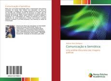 Обложка Comunicação e Semiótica: