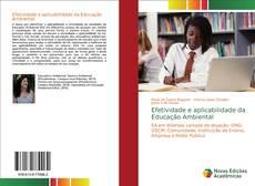 Buchcover von Efetividade e aplicabilidade da Educação Ambiental