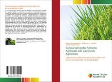 Capa do livro de Sensoriamento Remoto Aplicado em Lavouras Agrícolas