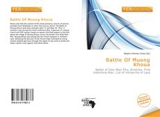 Bookcover of Battle Of Muong Khoua