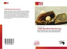 Bookcover of 1988 Baseball World Cup