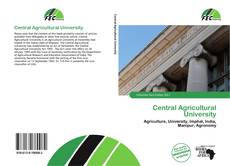 Bookcover of Central Agricultural University