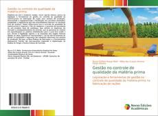 Buchcover von Gestão no controle de qualidade da matéria prima