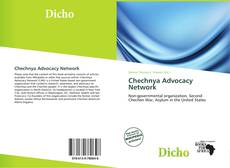 Bookcover of Chechnya Advocacy Network