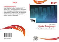 Capital Requirement kitap kapağı