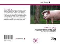 Bookcover of Hereford (Pig)
