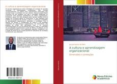 Capa do livro de A cultura e aprendizagem organizacional