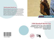 Bookcover of 1994 Baseball World Cup