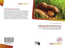 Bookcover of 1998 Baseball World Cup