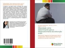 Capa do livro de Obesidade como determinante para o desenvolvimento da disfunção erétil