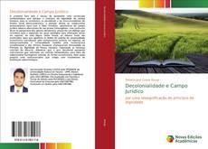 Bookcover of Decolonialidade e Campo Jurídico
