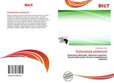 Bookcover of Calendula ointment