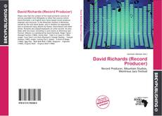 Bookcover of David Richards (Record Producer)