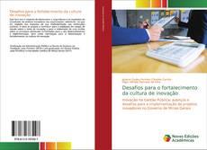 Capa do livro de Desafios para o fortalecimento da cultura de inovação