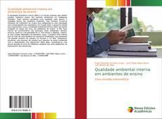 Portada del libro de Qualidade ambiental interna em ambientes de ensino