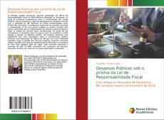 Capa do livro de Despesas Públicas sob o prisma da Lei de Responsabilidade Fiscal