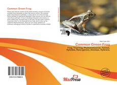 Bookcover of Common Green Frog