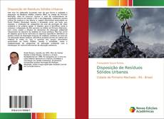 Capa do livro de Disposição de Resíduos Sólidos Urbanos