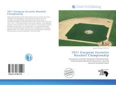 Portada del libro de 2011 European Juveniles Baseball Championship