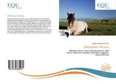 Bookcover of Albanian Horse