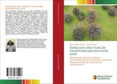 Buchcover von Dietas com altos níveis de concentrado para bovino de corte