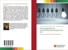 Capa do livro de Construção de um Transmissor de Energia sem Fio