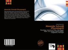 Portada del libro de Alexander Schmidt (Physiologist)