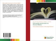 Capa do livro de Educação emocional no Ensino Médio