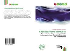 Copertina di Chorioadenoma destruens