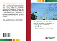 Capa do livro de Análise da sustentabilidade de um projeto de linha de transmissão