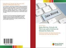 Portada del libro de Data Mining: Estudo de Técnicas para Análise de Desastres Naturais