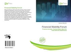 Capa do livro de Financial Stability Forum