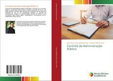 Buchcover von Controle da Administração Pública