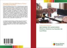 Bookcover of REFORMA DO JUDICIÁRIO Política Pública na Gestão de Conflitos