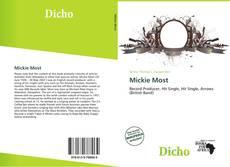 Portada del libro de Mickie Most