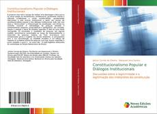 Capa do livro de Constitucionalismo Popular e Diálogos Institucionais