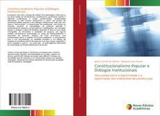 Constitucionalismo Popular e Diálogos Institucionais kitap kapağı