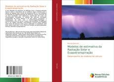 Capa do livro de Modelos de estimativa da Radiação Solar e Evapotranspiração