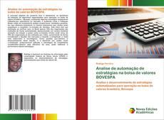 Bookcover of Analise de automação de estratégias na bolsa de valores BOVESPA