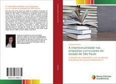 Capa do livro de A intertextualidade nas propostas curriculares do estado de São Paulo