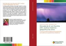 Capa do livro de Poluição do Ar em Paulínia (SP): análise histórico-geográfica do clima