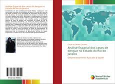 Capa do livro de Análise Espacial dos casos de dengue no Estado do Rio de Janeiro